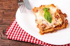 Tasty lasagna Royalty Free Stock Images