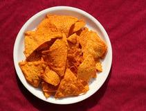 Tasty light snacks/Potato crisp Royalty Free Stock Image