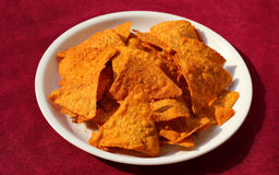 Tasty light snacks/Potato crisp Stock Photo