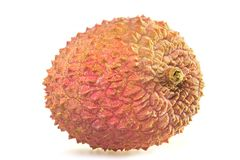 Tasty litchi Royalty Free Stock Images
