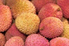 Tasty litchi royalty free stock photos