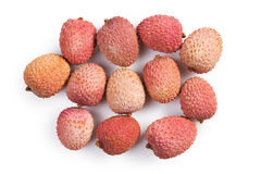 Tasty litchi fruit Stock Photography