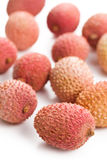 Tasty litchi fruit Royalty Free Stock Photography