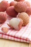 Tasty litchi fruit Stock Images