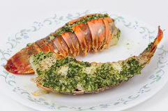 Tasty Lobster tail Royalty Free Stock Image