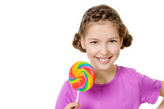 Tasty lollipop Royalty Free Stock Images