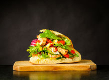 Tasty Looking Doner Kebap Sandwich Royalty Free Stock Photography