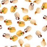 Tasty macaroon cookie Royalty Free Stock Photos