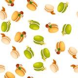 Tasty macaroon cookie Stock Images