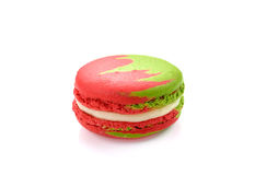 Tasty macaroon isolate on with background. Multi color tasty macaroon isolate on with background royalty free stock photo