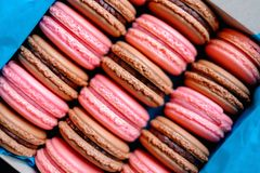 Tasty macaroons Royalty Free Stock Photography