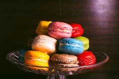 Tasty macaroons Royalty Free Stock Images