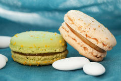 Tasty macaroons Royalty Free Stock Photo