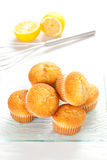 Tasty magdalena, homemade sweet Royalty Free Stock Images