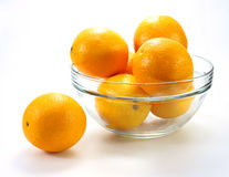 Tasty mandarines in bowl Royalty Free Stock Photo