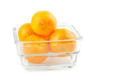 Tasty mandarines Stock Photos