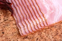 Tasty meat bacon Royalty Free Stock Photos