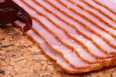 Tasty meat bacon Royalty Free Stock Images