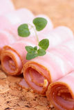 Tasty meat bacon Stock Images