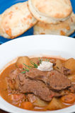 Tasty meat and potato stew Royalty Free Stock Images
