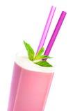 Tasty milkshake Stock Images