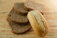 Tasty morning bread. This is a picture of Tasty morning bread Stock Photography