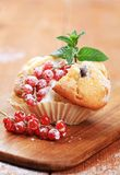 Tasty muffin Stock Image