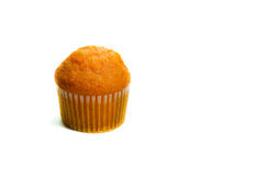 Tasty muffin cakes, isolated on white Royalty Free Stock Photography