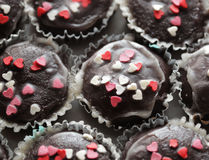 Tasty muffin cakes Royalty Free Stock Photography