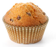 Tasty muffin in closeup Stock Photos