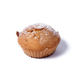Tasty muffin on white background. Tasty muffin Stock Photos