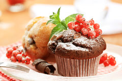 Tasty muffins Royalty Free Stock Images