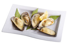 Tasty Mussels Stock Photography