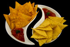 Tasty nachos Royalty Free Stock Image