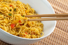 Tasty noodles Royalty Free Stock Image