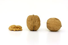 Tasty nuts Stock Image