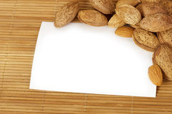 Tasty nuts Royalty Free Stock Photography