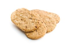 Tasty oatmeal cookies. Stock Photography