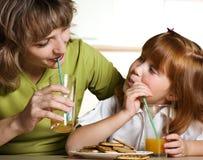 Tasty orange juice Stock Image