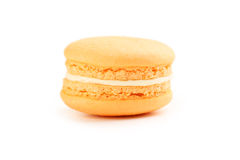 Tasty orange macaron Royalty Free Stock Photos