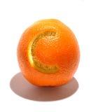 Tasty orange with vitamin C. Orange with vitamin and mineral Stock Photos