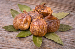 Tasty Organic Dried Figs Royalty Free Stock Images