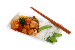 Tasty oriental dish Royalty Free Stock Image