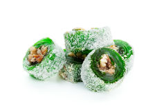 Tasty oriental sweets Royalty Free Stock Image