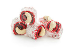 Tasty oriental sweets Stock Photography
