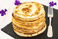 Tasty Pancakes Stack Royalty Free Stock Images