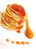 Tasty pancakes with syrop Stock Photography