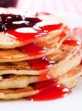 Tasty pancakes Stock Image