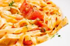 Tasty pasta Stock Photo