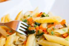 Tasty pasta Royalty Free Stock Photography